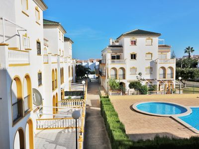 Photo for [ER-120] Bungalow in Molino Blanco with Swimming Pool 200m. to the Sandy Beach