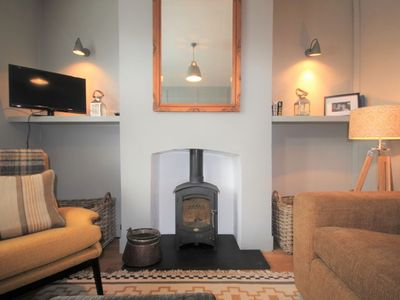 Photo for A delightful two bedroom cottage a minute from the sea!