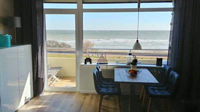 Photo for Fantastic water view / newly renovated apartment with a lot of comfort