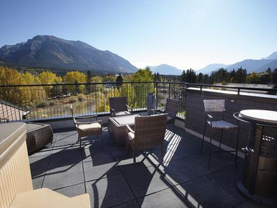 Photo for Downtown Creekside Penthouse In The Canadian Rockies sleeping 6