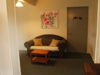 Photo for Fab location, off street parking, relaxed, comfy.