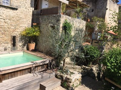 Photo for Large village house with pool south Luberon