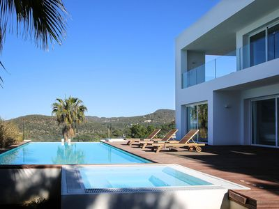 Photo for Villa Tristan, in Ibiza, with private pool, 4 bedrooms, 4 bathrooms, 8 sleeps.