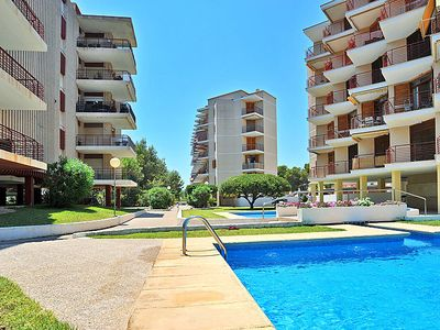 Photo for One bedroom Apartment, sleeps 4 in Javea with Pool and WiFi