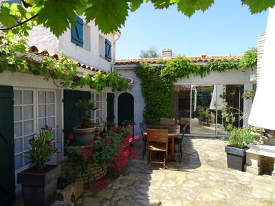 Photo for Étrille charming holiday home type 4 in the heart of the village