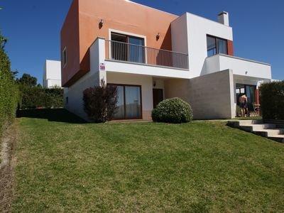 Photo for Stunning villa with private pool. Golf and beach in walking distance
