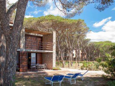 Photo for Villa on the beach with stunning seaview in Marina di Campo, on Elba Island