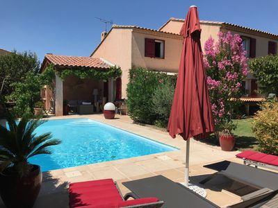 Photo for Family house with pool, quiet and close to Aix-en-Provence