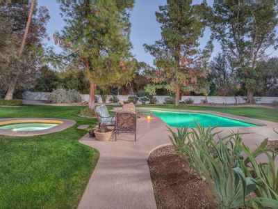 Photo for NEW LISTING! Spanish Mediterranean home on almost acre lot w/private pool