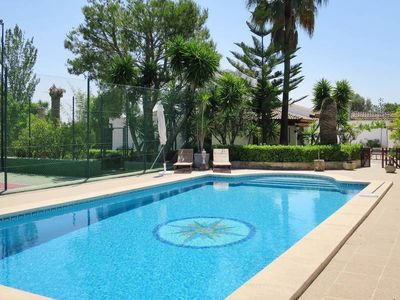 Photo for Vacation home Es Campet  in Binissalem, Majorca / Mallorca - 7 persons, 4 bedrooms
