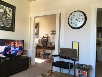 Photo for Popular Private 2 BR Rockridge Temescal Oakland Flat - Walk to BART, TJ's, Shops