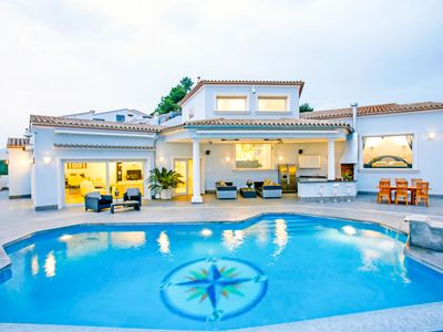 Photo for 3 bedroom Villa, sleeps 6 with Pool, Air Con and WiFi