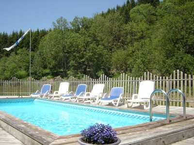 Photo for CHALET 15 TO 20 PERS **** SWIMMING POOL, SPANEO, SAUNA, KOTA-GRILL, WIFI