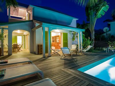 Villa just 1 minute from the beach