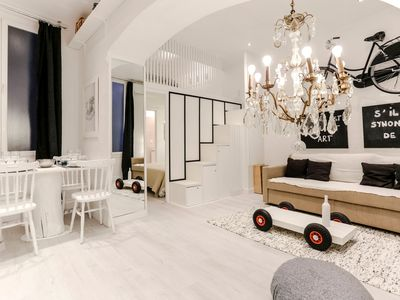 Photo for 2 charming rooms renovated Garibaldi square, similar to the swamp area in Paris