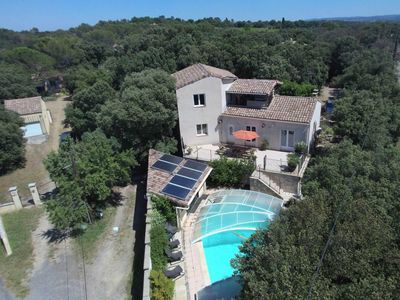 Photo for 4BR Villa Vacation Rental in MASSILLARGUES-ATTUECH