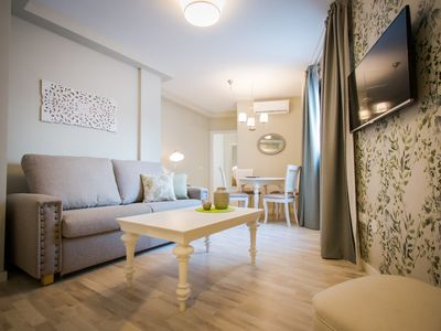 Photo for Newly refurbished and furnished in historic center of Malaga with shared terrace
