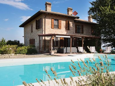 Photo for 5 bedroom Villa, sleeps 10 in Tabiano Castello with Pool, Air Con and WiFi