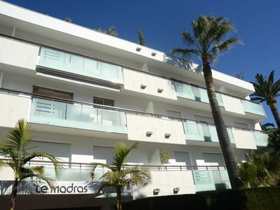 Photo for 2 Bed 2 Bath Luxury Apt of 82 SQM by the Beach in the heart of Antibes