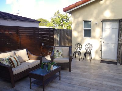 Photo for Excellent Cottage close to Brickell. Now Patio update!!