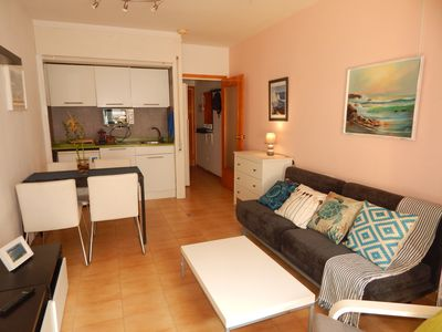 Photo for Nice and cozy loft 200 meters from the sea. Swimming pool