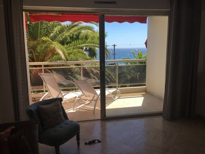 Photo for Large 3 rooms Sea View in Cannes la Bocca