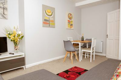 Spacious Lounge with Dining Area