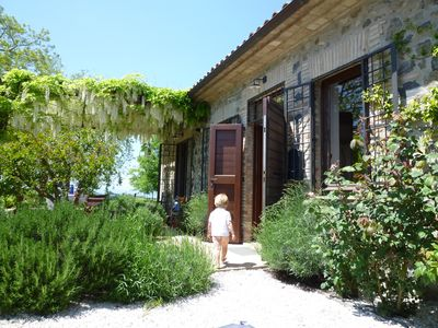 Photo for Part of a stylishly renovated Umbrian estate near Orvieto and Bolsena