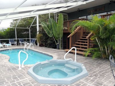 Beautiful views and private dock with direct Gulf access on Hernando Beach.