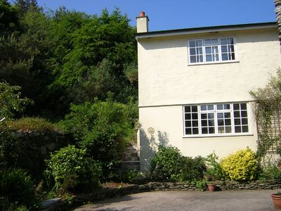 Photo for Spacious cottage with large garden and parking by Polperro, sea and coast path