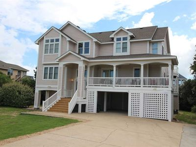 Photo for #4012: OCEANSIDE Home in Corolla w/PrivatePool, HotTub & RecRm