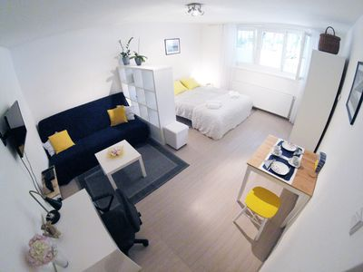 Photo for Studio*** with free parking and wifi, near Zagreb main bus station, pet friendly