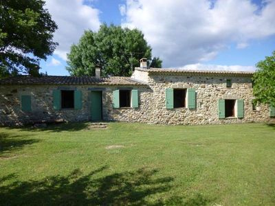 Photo for Provencal farmhouse, restored sheepfold with a pool