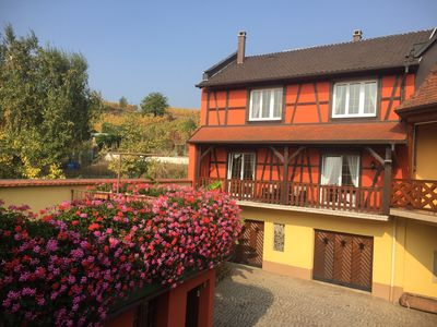 Photo for Furnished all mod cons apartment in a half-timbered Alsatian house