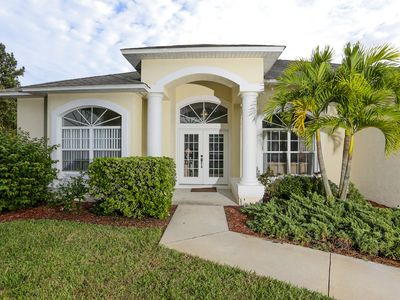 Photo for Huge Pool In This Large Walk To Beach Home. Has Added Bonus Of Having Pool Table