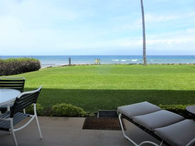 Photo for PAPAKEA - GREAT LOCATION, DIRECT OCEANFRONT CONDO, STEPS FROM THE OCEAN