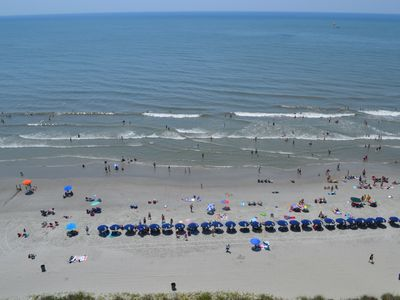 Photo for OCEANFRONT 3BEDROOM/2BATH. Beach umbrella and 2 chairs included. BOOK NOW