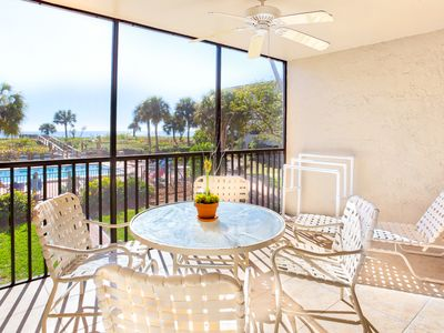 Photo for Gulf Front- Bright, Clean, Updated Tarpon Beach Condo, 2 Bedroom 2 Bathroom