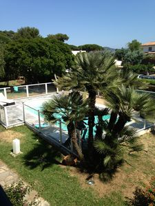 Photo for Near St Tropez Villa 200m2 waterfront, garden, pool, air conditioning
