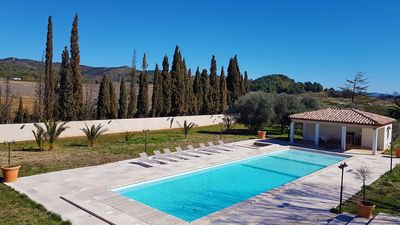 Photo for House of 400m² in a wine estate. Garden of 5000m ² and swimming pool of 20m