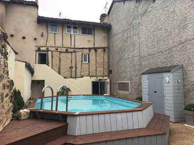 Photo for Gite Zeus, swimming pool, house Vic-Fezensac center, 4 beds