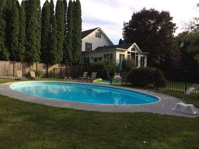 In ground pool open May- mid October