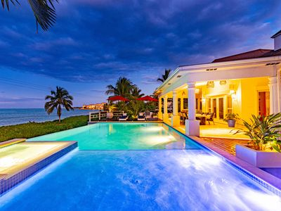 Photo for Orange Hill Beach House , private Pool & Jacuzzi