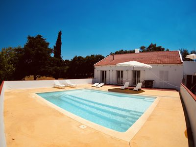 Photo for Private apartment in a beautiful farm with swimming pool and castle views