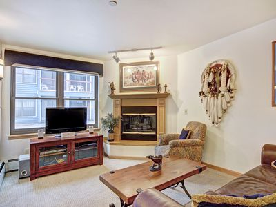 Photo for Comfortable and Convenient Ski-In 2 Bedroom Condo Minutes to the Lifts