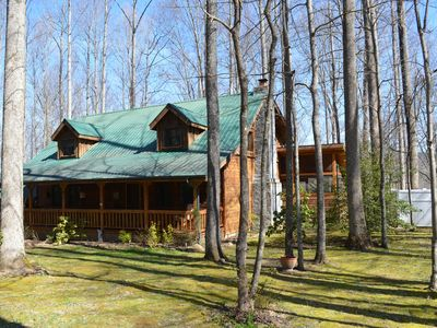 Photo for Three Little Birds Cabin - Over the top amenities and most popular cabin in area