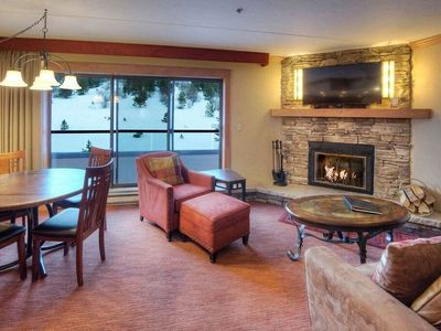 Photo for SKI-IN RESIDENCE, Access to 6 Hot Tubs! Private Fireplace & Balcony