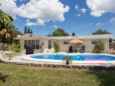 Photo for Cozy Getaway House with Pool & New Tile Floors!