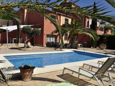 Photo for Nice family villa 8 persons with private pool, WI-FI, air conditioning