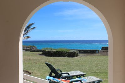Oceanview from Patio of 11 Ginger Bay